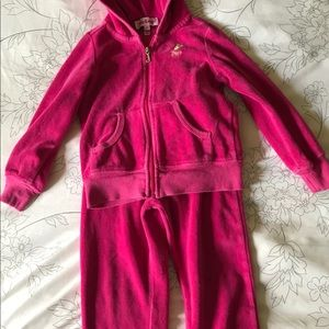 Juicy Couture Girls Sweat Suit